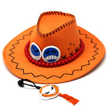 Load image into Gallery viewer, Anime Cosplay Cowboy costume hat