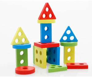 Wooden Geometry Shape Sorting Toy