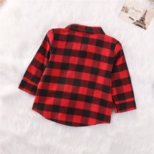 Load image into Gallery viewer, Long Sleeve Plaid Shirts