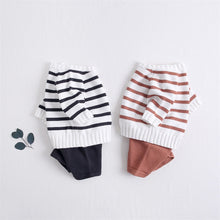 Load image into Gallery viewer, Long sleeve infant pullovers sweaters+shorts Set