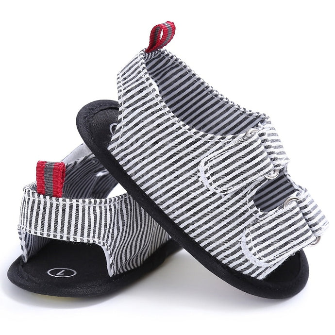 Stripe Canvas Baby Casual Shoes