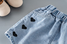 Load image into Gallery viewer, Girls love denim shorts for kids