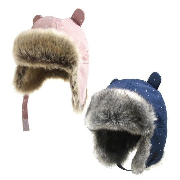 Kids Thickened Fur Hats