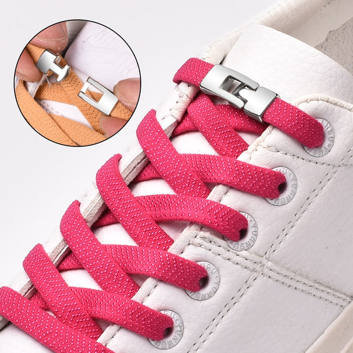 Elastic Cross Unisex Sneakers Shoelace