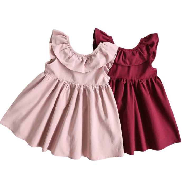 Sleeveless Bowknot Princess Dress