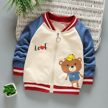 Load image into Gallery viewer, Baby Jacket Clothing Spring And Autumn Boys Girls