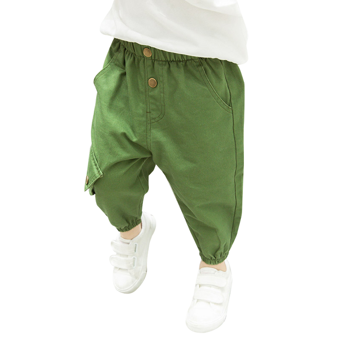 Boy Pockets Cargo Pant