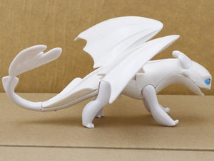 Black And White Animated Dragon Toy