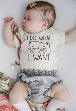 Load image into Gallery viewer, I Do What I Want Funny Printing Newborn Baby Romper