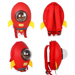 Rocket Kids Backpack For Boys