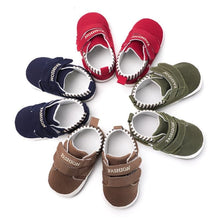 Load image into Gallery viewer, Baby Shoes Sole Soft Canvas Solid Footwear