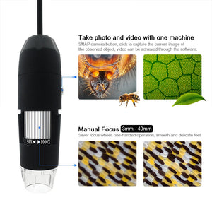 Digital USB Interface Electronic Microscope Magnifier
