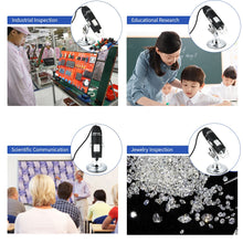 Load image into Gallery viewer, Digital USB Interface Electronic Microscope Magnifier
