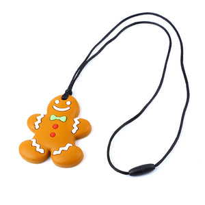 1pc Gingerbread Man baby Teether Toy