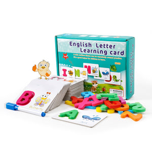 Alphabets Learning Cards