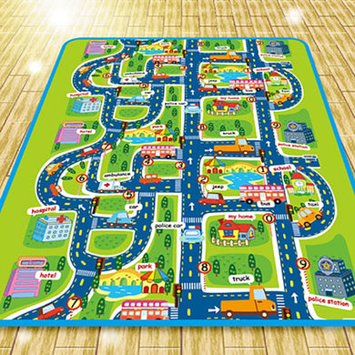 Road Map Kiddie Mat