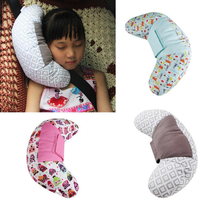 Kids Styling Neck Headrest Cushion