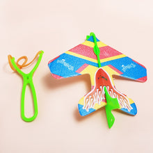 Load image into Gallery viewer, Kids Slingshot Roundabout Aircraft Plastic Toy