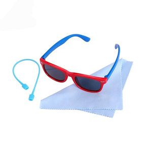 Kids Sunglasses Soft Frame With Case