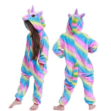 Load image into Gallery viewer, Unicorn Onesie Pajamas