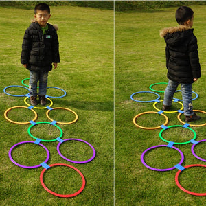 Children Sensory Training Outdoor Fun Game Jumping Ring