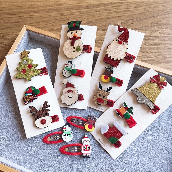 Girl Cute Christmas Hairpins