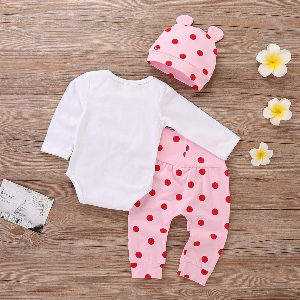 Ensemble de vêtements girafe rose