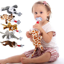 Load image into Gallery viewer, Large doll Baby Dummy Pacifier Chain Clip