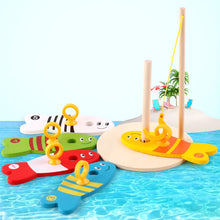 Load image into Gallery viewer, Learning Education Kids Wooden Fish Montessori Toys