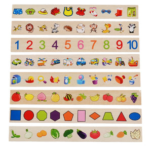 Montessori Classification and Matching Game Wooden Box