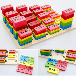 Domino Math Toy