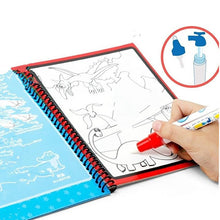 Load image into Gallery viewer, Montessori Painting Drawing Board Kids Toys Coloring Book