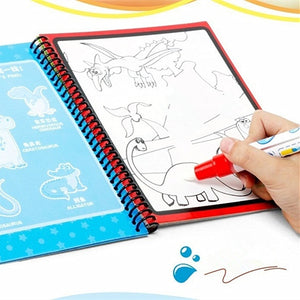 Montessori Painting Drawing Board Kids Toys Coloring Book