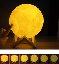 Load image into Gallery viewer, Moon Night Lamp