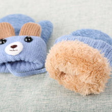 Load image into Gallery viewer, Cute Bear Baby Gloves