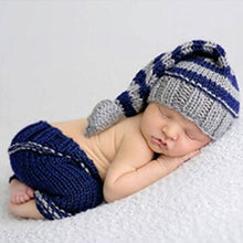 Load image into Gallery viewer, Newborn Baby Soft Crochet Knit Photography Prop Outfits