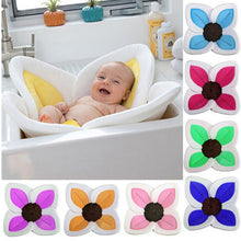 Load image into Gallery viewer, Baby Flower Cushion Bath Tub