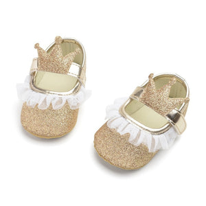 Baby Girl Princess Crowned Shoes