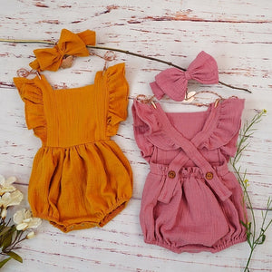Baby Girls Costumes Bubble Rompers