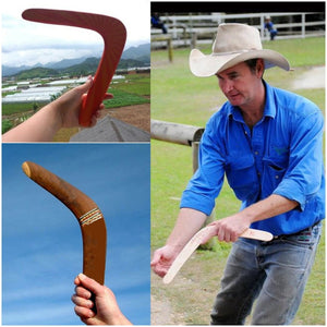 New Kangaroo Throwback V Shaped Boomerang Outdoor Toy