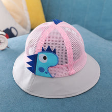 Load image into Gallery viewer, Dino Mesh Baby Hat