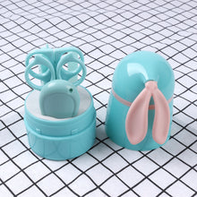 Load image into Gallery viewer, Baby Nail Care Set With Rabbit Storage