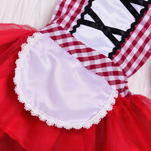 Load image into Gallery viewer, Newborn Cosplay Baby Girl Red Tutu Dress