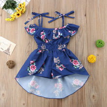 Load image into Gallery viewer, Newest Strap Rompers Jumpsuit Swallow Tail Skirt Summer Outfit