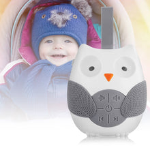 Load image into Gallery viewer, Owl White Noise Baby Soother Sleep Helper Sound Machine