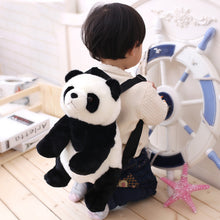 Load image into Gallery viewer, Panda Backpacks Stuffed Animal Bag