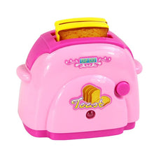 Load image into Gallery viewer, Pink Household Appliances Children Pretend Play Set