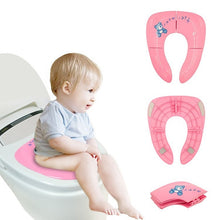 Load image into Gallery viewer, Portable Kids Travel Potty Seat Pad