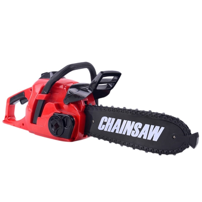 Rotating Chainsaw with Sound Simulation Repair Tool Play Toy for Boys