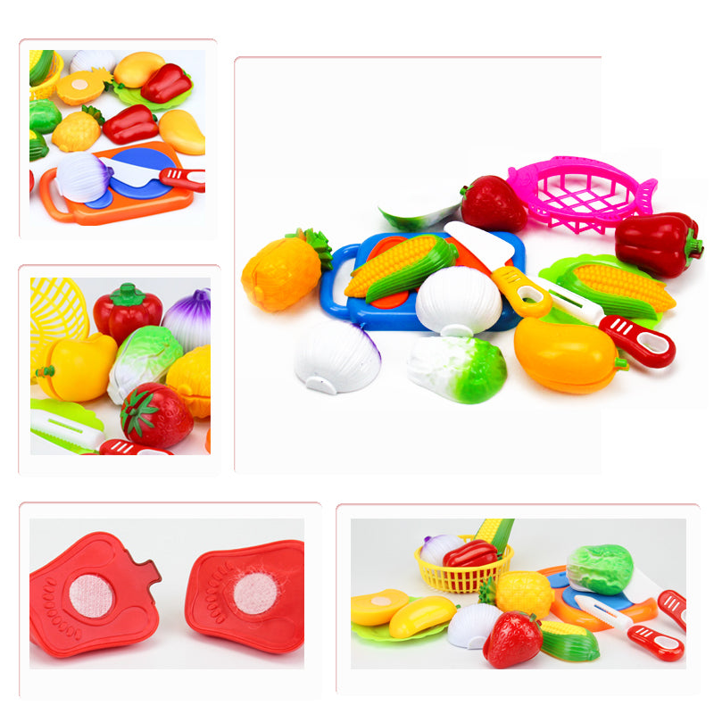 Cutting Food Plastic Baby Kitchen Toy